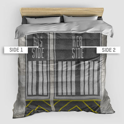 Runway Sides - Duvet Cover - airportag  - 2