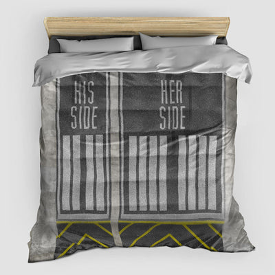 Runway Sides - Duvet Cover - airportag  - 1