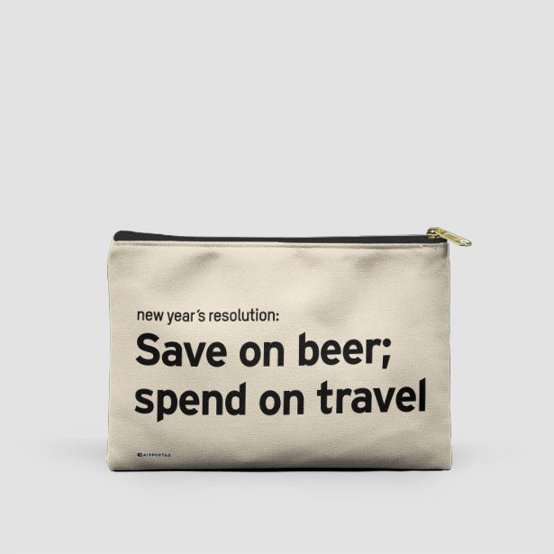 Save On Beer; Spend On Travel - Packing Bag - Airportag