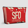 SFO - Pouch Bag - airportag  - 1