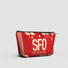 SFO - Pouch Bag - Airportag