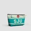 SJU - Pouch Bag - airportag  - 2