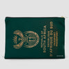 South Africa - Passport Pouch Bag - Airportag