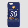 SQ - Phone Case - airportag  - 1