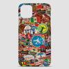 Travel Stickers - Phone Case airportag.myshopify.com