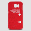 Switzerland - Passport Phone Case - Airportag