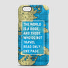 The World Is - Phone Case - airportag  - 1