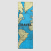 Travel - World Map - Runner Rug airportag.myshopify.com