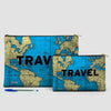 Travel - World Map - Pouch Bag - airportag  - 6