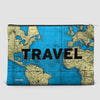 Travel - World Map - Pouch Bag - airportag  - 4