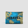 Travel - World Map - Pouch Bag - airportag  - 5