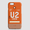 U2 - Phone Case - airportag  - 1