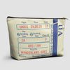 UA Boarding Pass - Pouch Bag - airportag  - 1