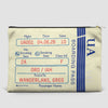 UA Boarding Pass - Pouch Bag - airportag  - 2