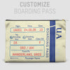 UA Boarding Pass - Pouch Bag - airportag  - 3