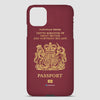 United Kingdom - Passport Phone Case