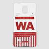 WA - Phone Case - airportag  - 4