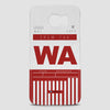 WA - Phone Case - airportag  - 2