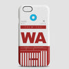 WA - Phone Case - airportag  - 1