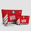 WAW - Pouch Bag - airportag  - 3