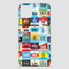 Worldwide Airports - Phone Case airportag.myshopify.com
