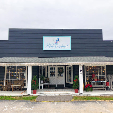The Blue Cardinal Boutique Franklin TN storefront view