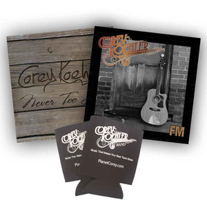 "Bonus Bundle: ""FM"" and ""Never Too Late"" CD's + Coolies"