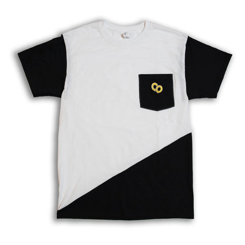 Cut & Sew Medium Diagonal Tee #1