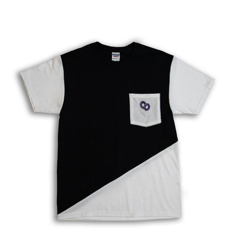 Cut & Sew Medium Diagonal Tee #2