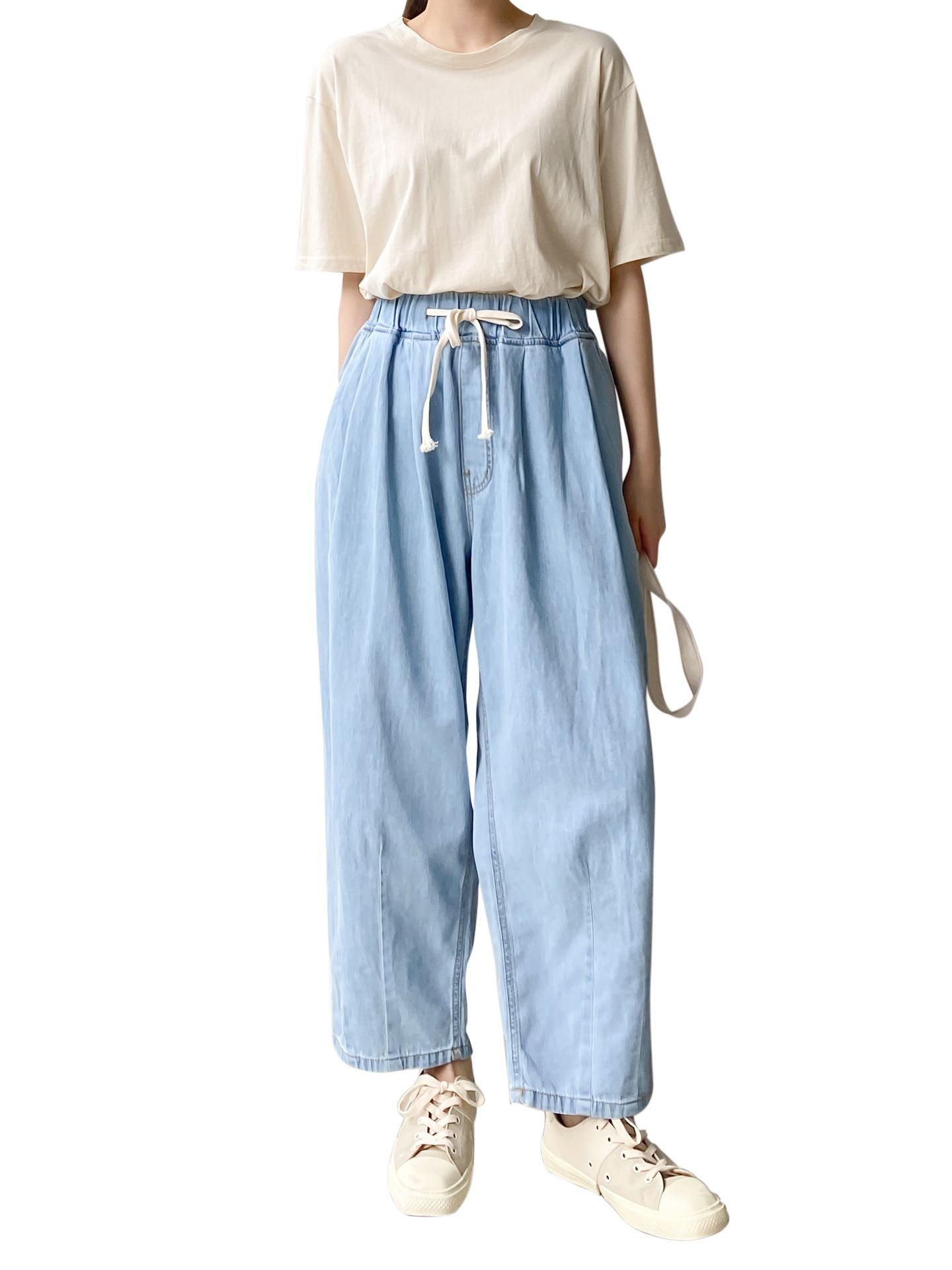 5062 Jean Baggy Bouffanteac Jean Baggy Womens Clothing