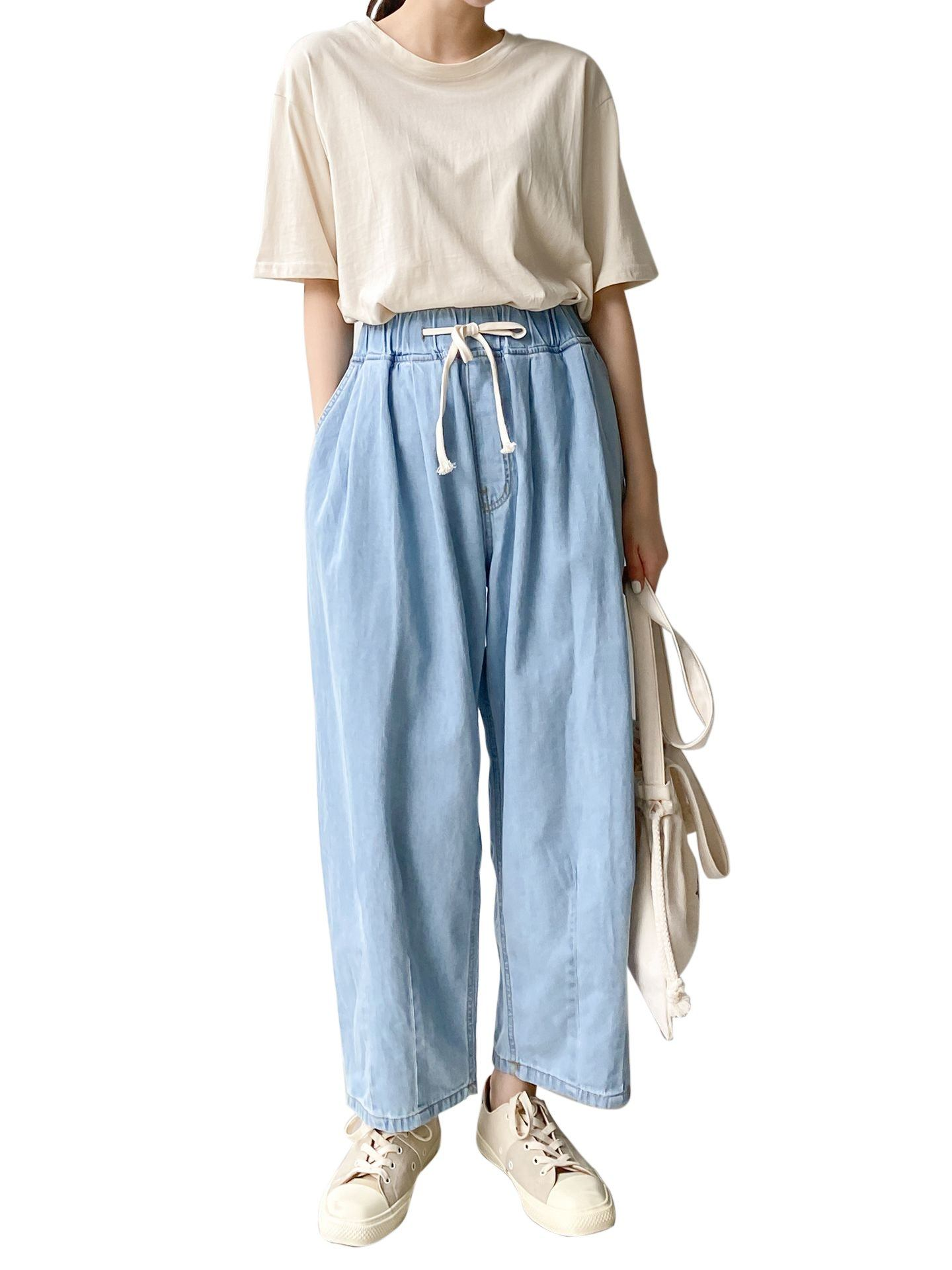 5062 Jean Baggy Bouffanteac Jean Baggy Womens Clothing From Korea