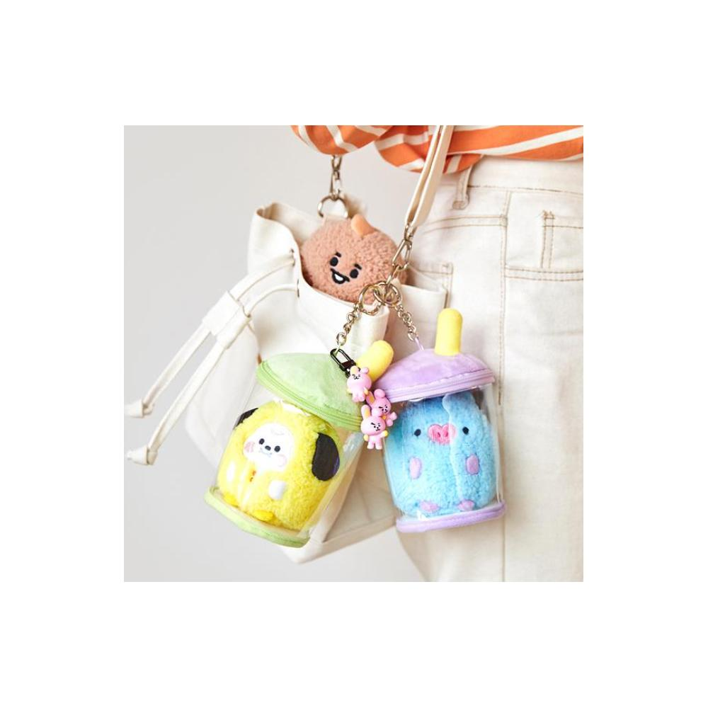 BT21 BABY CHIMMY <br> Bubble Tea Doll Accessoires de Sac Poupée BT21