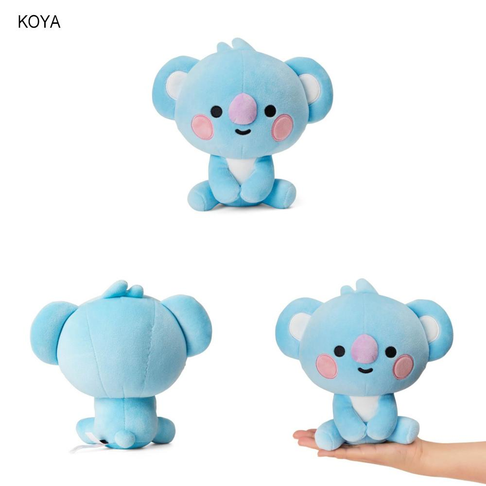 BT21 BABY Sitting Doll Poupée BT21 20cm KOYA