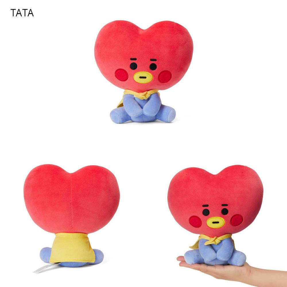BT21 BABY Sitting Doll Poupée BT21 20cm TATA