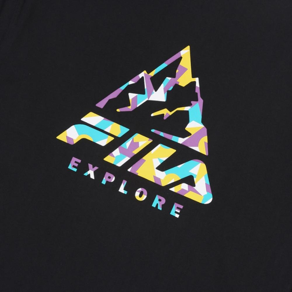 EXPLORE T shirt Manches Longues T-shirt FILA mens Top Fashion Kpop Clothing