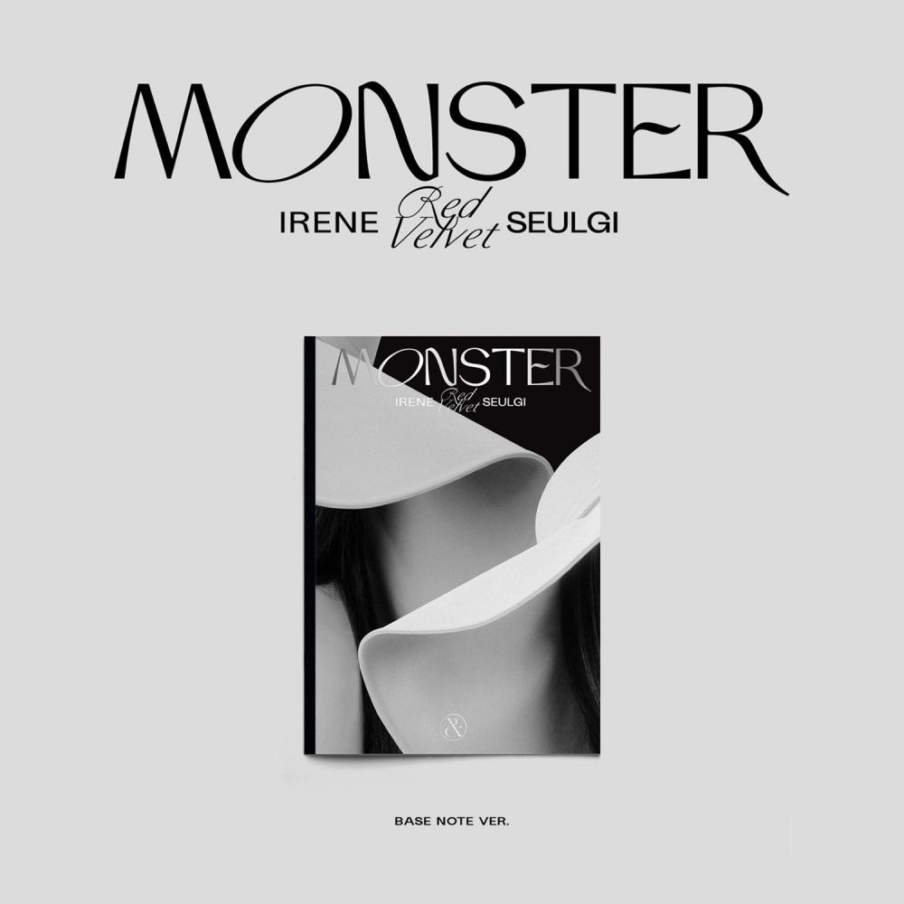 IRENE & SEULGI The 1st Mini Album 'Monster' (Base Note Ver.) Album RED VELVET