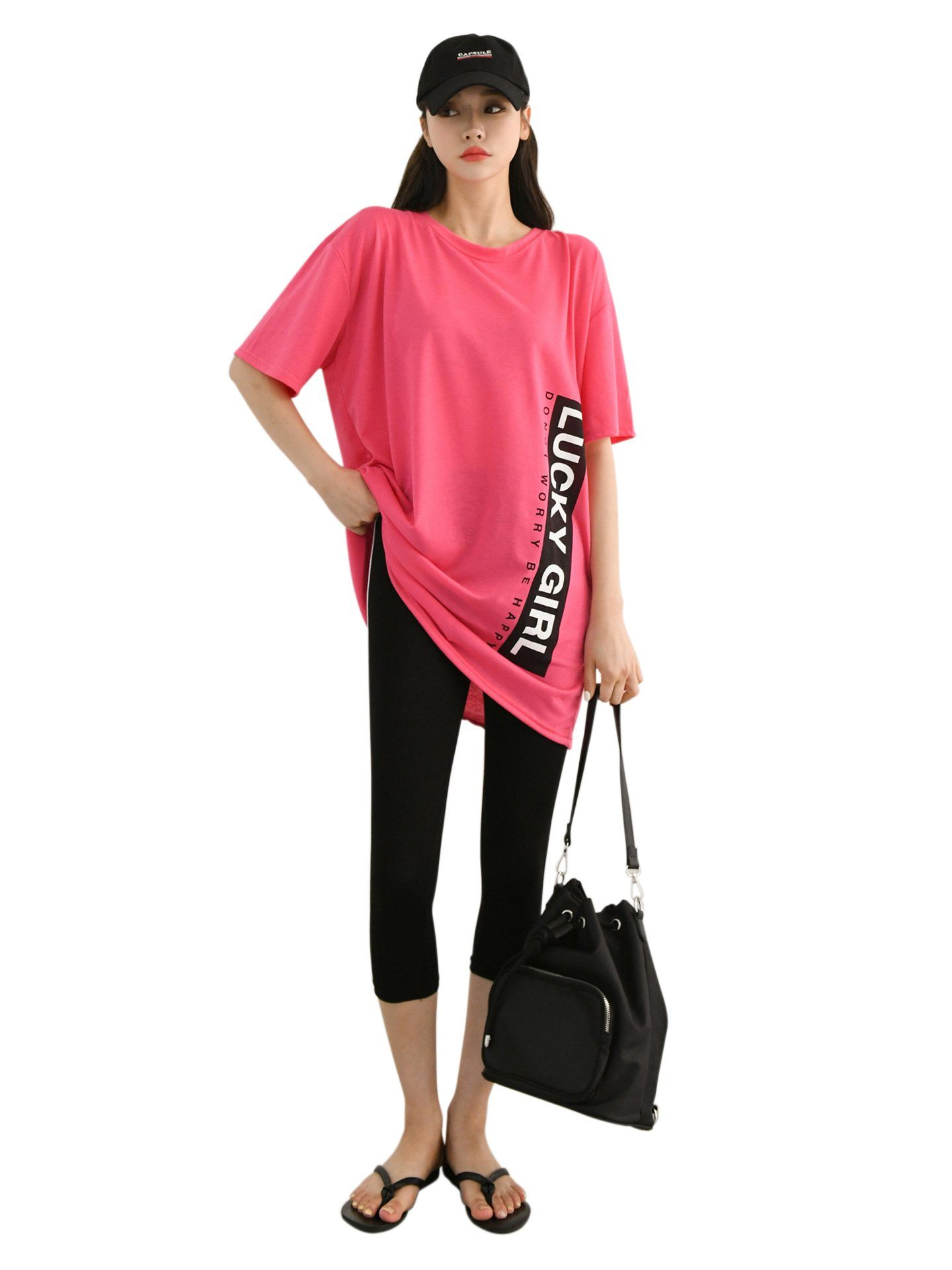 LUCKY GIRL T-shirt Manches Courtes & Leggings T-shirt & Legging BELLE D'ORIENT