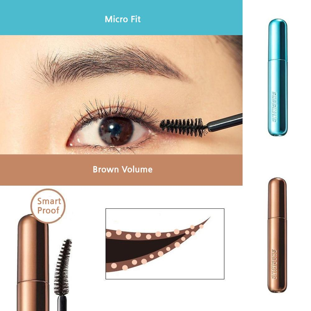 The Shocking Cara (7 Types) 10g <br> Étonnant mascara TONYMOLY Micro Fit
