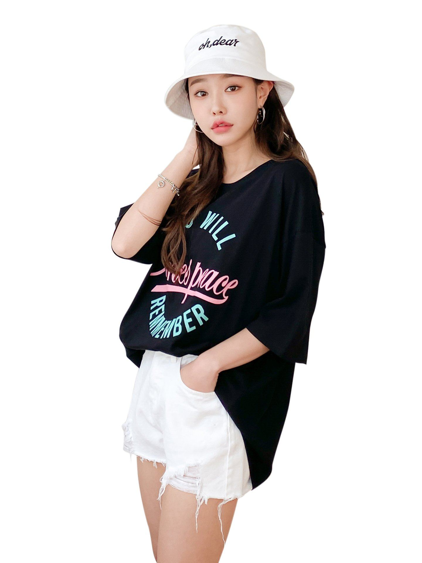 YOU WILL T-shirt Oversize Manches 3/4 Manches courtes BELLE D'ORIENT
