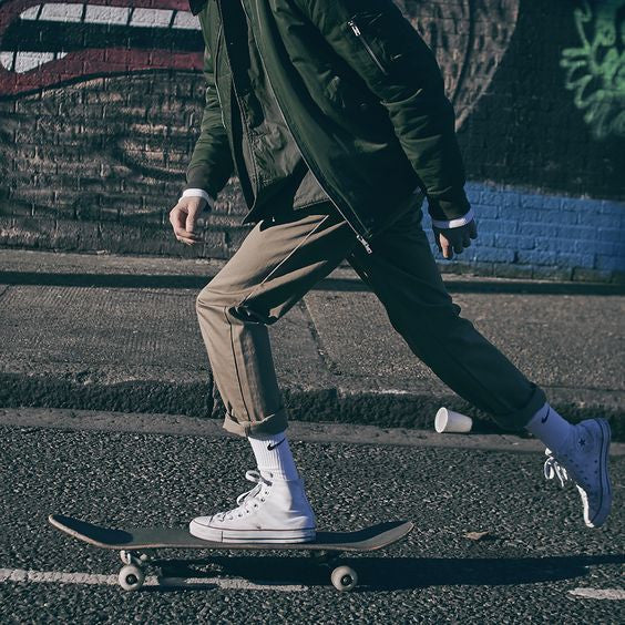 How White Socks Have Become Cool Again