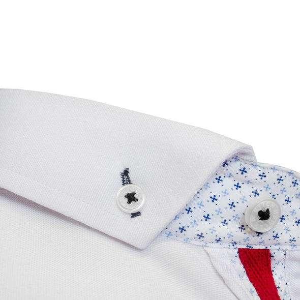 Aland white long sleeved shirt Bewley and Ritch