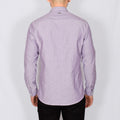 Slim Fit Oxford Long Sleeve Shirt - ALAND B - Heather