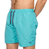 Swim Shorts - ALDEN - Aqua