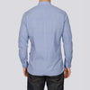 Slim Fit Geo Print Long Sleeve Shirt - ARTY - Blue
