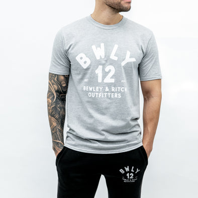 Regular Fit Cotton T-shirt - BAAR - Grey