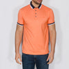 Jacquard Polo Shirt - DONNA - Orange