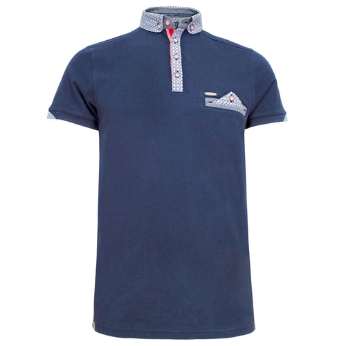 Emilio navy polo shirt Bewley and Ritch