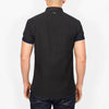 Plus Size Short Sleeve Shirt - HALANDB - Black