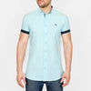 Slim Fit Oxford Short Sleeve Shirt - GALANDB - Mint