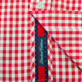 Geigy red check long sleeved shirt Bewley and Ritch
